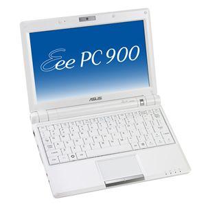 ASUS ノートパソコン EeePC 900-X シャイニーホワイト - 拡大画像