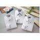 ドレスシャツ3枚組(ホワイト系) Sサイズ - 縮小画像1