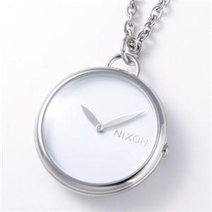 NIXON(ニクソン) 「Spree Pendant」 ユニセックスペンダントウォッチ A728 ホワイト - 拡大画像
