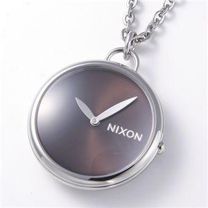 NIXON(ニクソン) 「Spree Pendant」 ユニセックスペンダントウォッチ A728 ブラック - 拡大画像