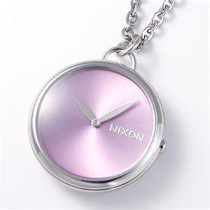 NIXON(ニクソン) 「Spree Pendant」 ユニセックスペンダントウォッチ A728 ピンク - 拡大画像