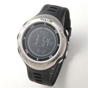 SOLUS(ソーラス) ハートレートモニター 心拍時計 Pro110 01-110-001 ブラック - 拡大画像
