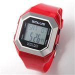SOLUS(ソーラス) ハートレートモニター 心拍時計 01-840 01-840-03 レッド