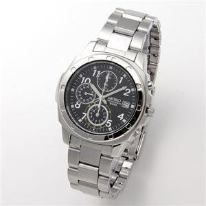 SEIKO(セイコー) 腕時計 クロノグラフ SND195P ブラック/アラビア - 拡大画像