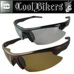 Cool Bikers(クール バイカーズ) 調光偏光サングラス ブラウン×ブラウン
