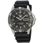腕時計 SEIKO 5 SPORTS(セイコー ファイブ スポーツ) オートマチック デイデイト 逆輸入 海外モデル 日本製 ブラック×ブラック SNZD17JC