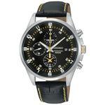 腕時計 SEIKO(セイコー) クロノグラフ デイト 逆輸入 海外モデル ブラック×ブラック SNDC89PD