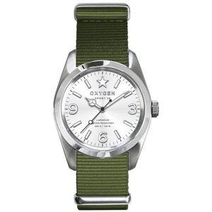 OXYGEN(オキシゲン) 腕時計 Sport 38(スポーツ38) Paris(パリ) シルバー - 拡大画像