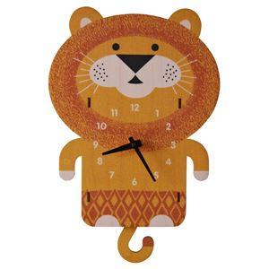 modern moose(モダン ムース) 掛時計 ライオン振り子 - 拡大画像