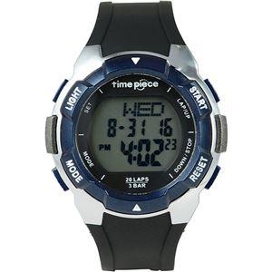 Time Piece(タイムピース) 腕時計 ランニングウォッチ 20LAP デジタル ブルー TPW-004BL - 拡大画像