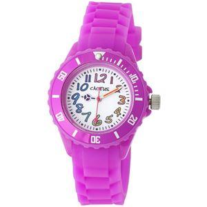 CACTUS (カクタス) キッズ腕時計 カラフルインデックス ピンク CAC-62-M05 - 拡大画像