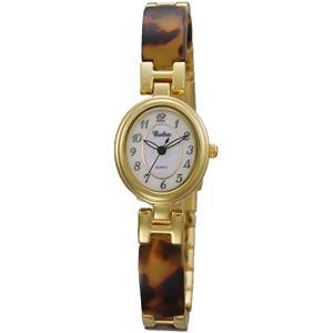 CROTON(クロトン)  腕時計 3針 オーバル シェル文字盤 RT-150L-4