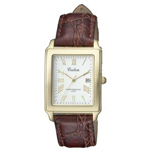 CROTON(クロトン)  腕時計 3針 デイト 日本製 RT-158M-B - 拡大画像