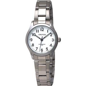 CROTON(クロトン)  腕時計 3針 日本製 RT-168L-C - 拡大画像