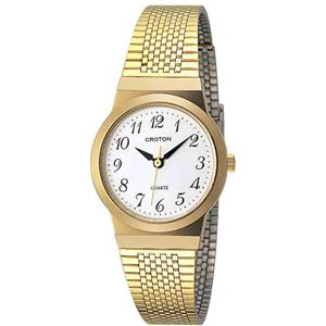 CROTON(クロトン)  腕時計 3針 日本製 RT-119L-3 - 拡大画像