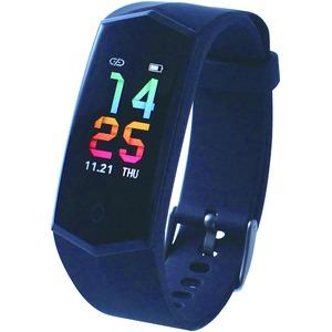 スマートウォッチ スマートブレスレット 心拍計 IP67防水 歩数計 活動量計 消費カロリー 多機能 健康サポート ios/Android対応  - 拡大画像