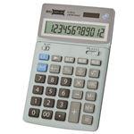 ビッグディスプレイ 卓上電卓 12桁税計算 D-9012