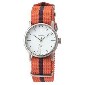 CROTON (クロトン) 腕時計メンズ 3針 ナイロン RT-173M-03 - 拡大画像
