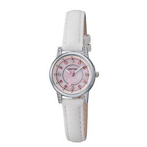 CROTON (クロトン) 腕時計レディース 3針 ストーンインデックス RT-170L-G - 拡大画像