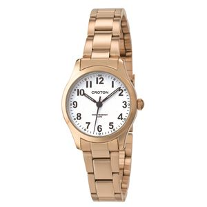 CROTON (クロトン) 腕時計レディース 3針 RT-168L-B - 拡大画像