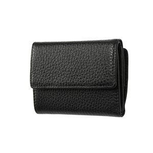 FRUH(フリュー) イタリアンレザー 3つ折り財布 コンパクトウォレット GL032-BK ブラック - 拡大画像