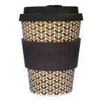 Ecoffee Cup(エコーヒー カップ) カップ ソーサー 繰り返し使える 環境に優しい バンブーファイバー 355ml Threadneedle [600 201]