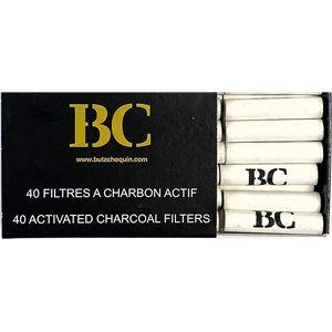 Bub・Choquin (ブッショカン) チャコールフィルター 9mm(40本入り) BC-F-9/40 - 拡大画像
