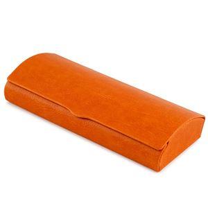マグネット式 メガネケース オレンジ HY-8113-22 - 拡大画像