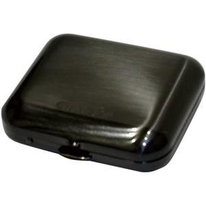 GEAR TOP(ギア トップ) 日本製 携帯灰皿 タバコ置きスタンド付き 【ブラックニッケルサテーナ仕上げ】 - 拡大画像