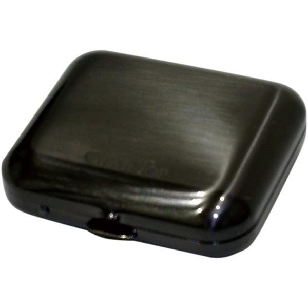 GEAR TOP(ギア トップ) 日本製 携帯灰皿 タバコ置きスタンド付き 【ブラックニッケルサテーナ仕上げ】