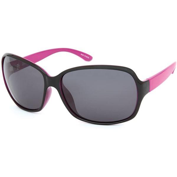 Coleman(コールマン) Lady's 偏光サングラス CLA03-1【フレーム:ブラック/ピンク】【レンズ:スモーク】