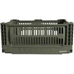 SLOWER FOLDING CONTAINER Bask 収納ケース 折りたたみ ボックス Sサイズ オリーブ SLW158