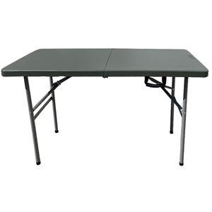 SLOWER OUTDOOR INDOOR FURNITURE FOLDING TABLE 折りたたみ テーブル オリーブ - 拡大画像