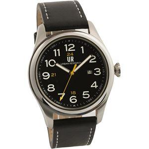 URBAN RESEARCH(アーバンリサーチ) 腕時計 UR001-01 メンズ ブラック - 拡大画像