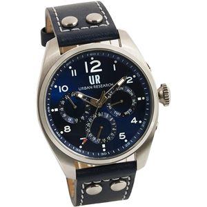 URBAN RESEARCH(アーバンリサーチ) 腕時計 UR002-02 メンズ ブルー - 拡大画像
