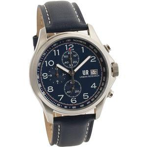 URBAN RESEARCH(アーバンリサーチ) 腕時計 UR003-02 メンズ ブルー - 拡大画像