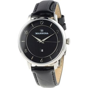 MANNINA(マンニーナ) 腕時計 MNN001-01 メンズ 正規輸入品 ブラック - 拡大画像