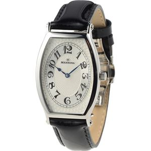 MANNINA(マンニーナ) 腕時計 MNN002-01 メンズ 正規輸入品 ブラック - 拡大画像