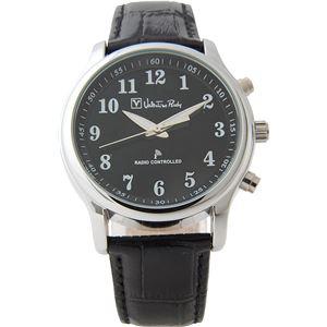 Valentino Rudy(ヴァレンティノ ルディー) 腕時計 VR-574 ブラック(文字盤:ブラック) - 拡大画像