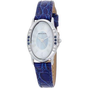 pierre cardin(ピエールカルダン) 腕時計 ソーラー 天然石 6P PC-793  サファイア(ブルー) - 拡大画像
