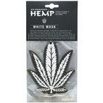 HEMP(ヘンプ) エアーフレッシュナー 吊り下げタイプ 12枚セット WHITE MUSK
