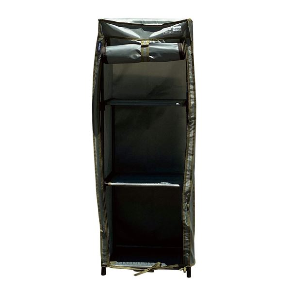 SLOWER ROLL-UP WARDROBE 収納 衣類ラック Derek(L) ポリエステル SLW239 オリーブ