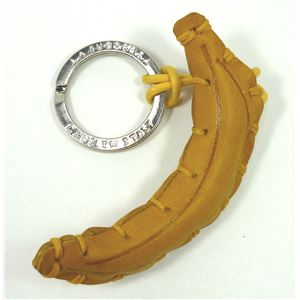 LA CUOIERIA(ラ・クオイエリア) ハンドメイド 本革 キーホルダー バナナ - 拡大画像