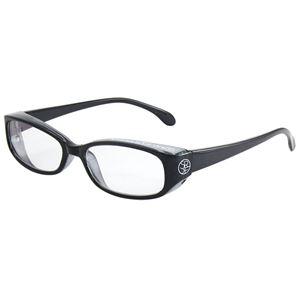 子ども用 PCメガネ ブルーライトカット 紫外線 飛沫対策 形状 KPC-82-2 【クリアグレー】 - 拡大画像