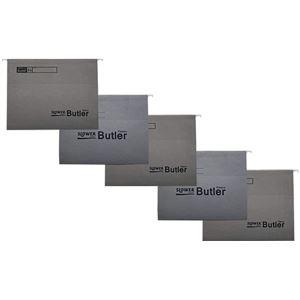 SLOWER(スロウワー) ファイルホルダー 同色5枚セット Butler(バトラー) グレー 【本体別売】 - 拡大画像