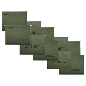 SLOWER(スロウワー) ファイルホルダー 同色10枚セット Butler(バトラー) オリーブ 【本体別売】 - 拡大画像