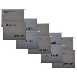 SLOWER(スロウワー) ファイルホルダー 同色10枚セット Butler(バトラー) グレー 【本体別売】 - 拡大画像