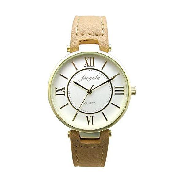 fragola(フラゴーラ) 腕時計 3針 【バンドカラー:ブラウン/文字盤カラー:シルバー】 レディース E03915S-1 BR