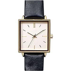 pursuit(ピュアスーツ) 腕時計 3針 【バンドカラー:ブラック/文字盤カラー:シルバー】 レディース E05516A-1 BK - 拡大画像