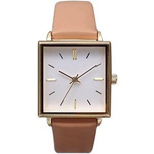 pursuit(ピュアスーツ) 腕時計 3針 【バンドカラー:ピンク/文字盤カラー:シルバー】 レディース E05516A-1 PK - 拡大画像